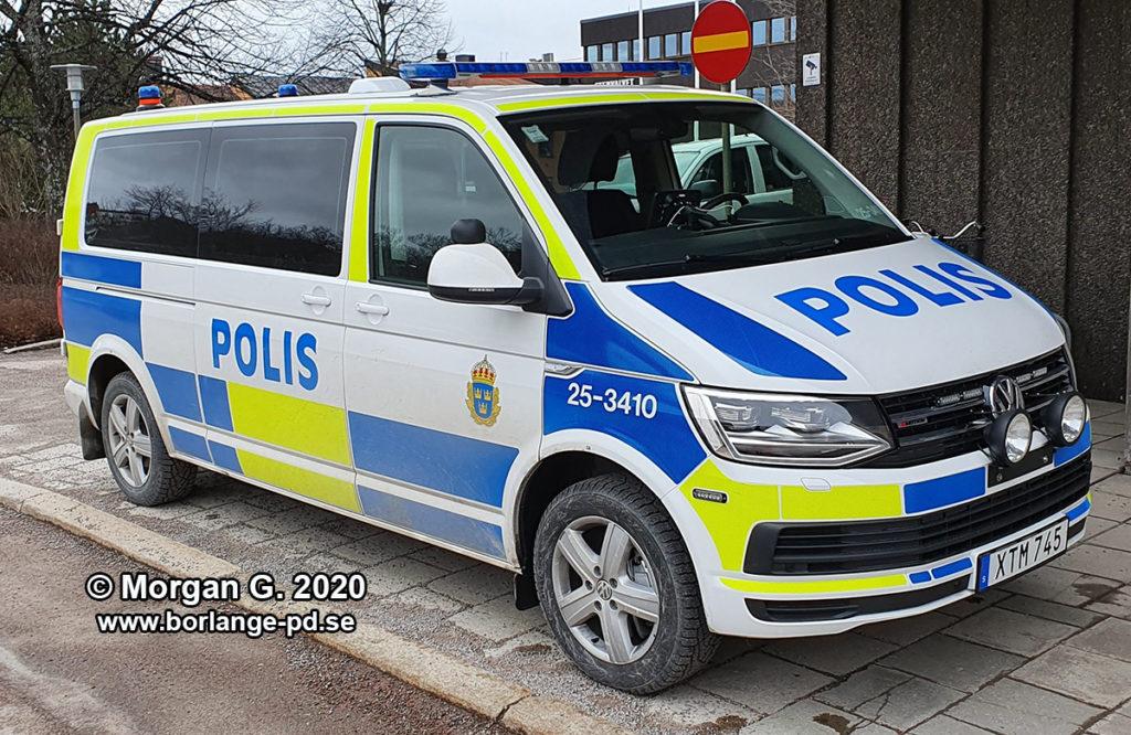 Polisbuss Dalarna