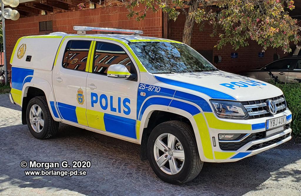 VW AMAROK POLISEN DALARNA