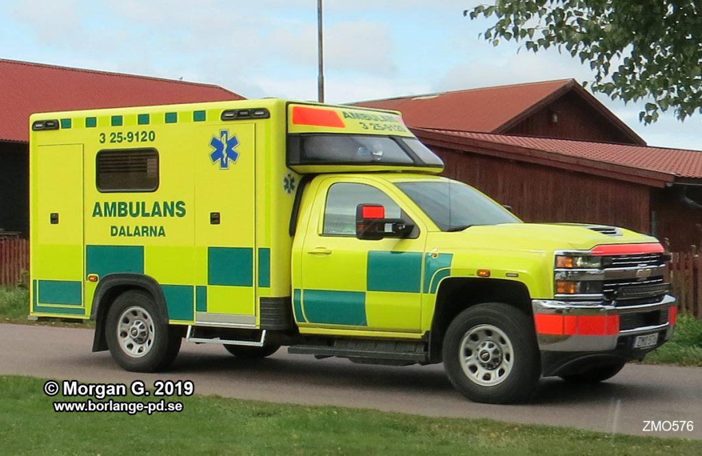 3 25-9120 Ambulansen Borlänge