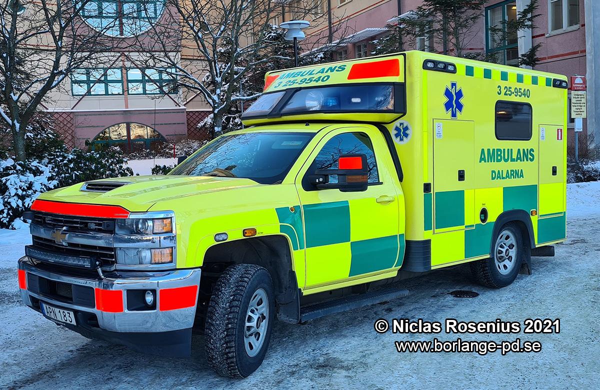 Ambulansen Avesta