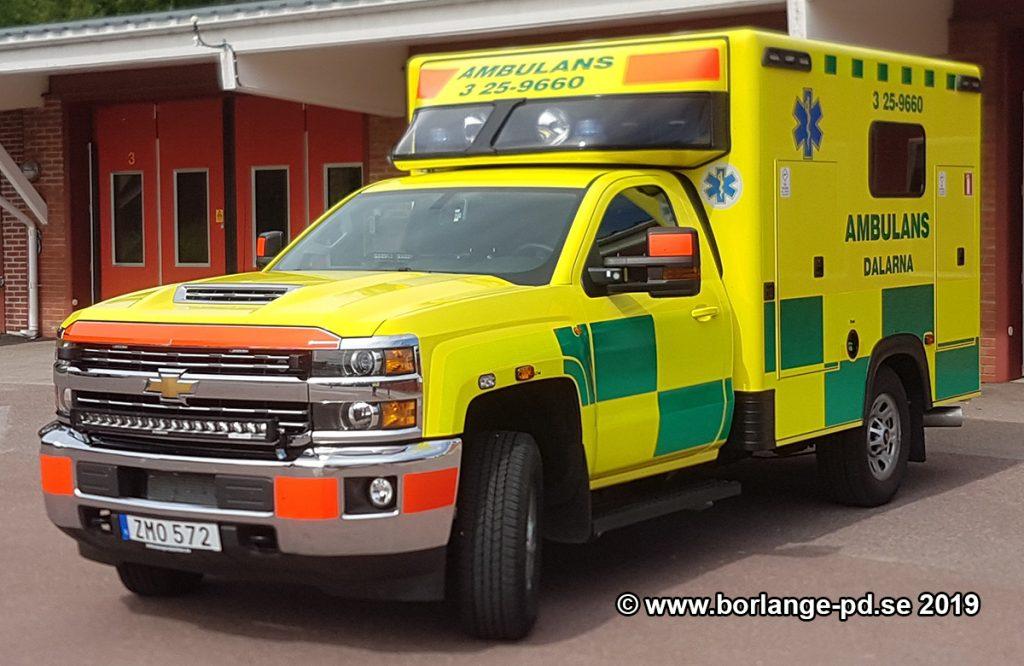 3 25-9660 Ambulansen Leksand