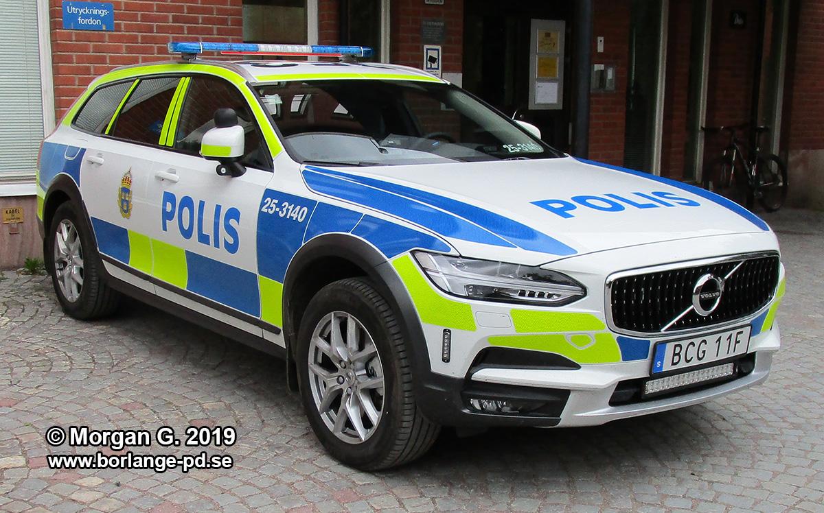 Polisen Falun V90 cc